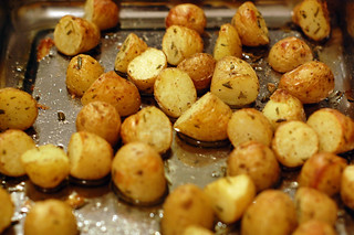 Roasted Pearl Potatoes | by su-lin