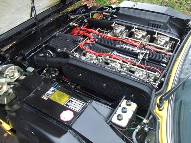 Lamborghini Espada Series Ii 1971 Engine Willem S Knol Flickr