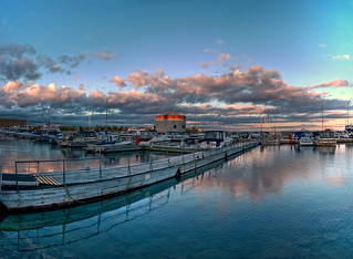 Shoal Tower at sunset — HDR panorama (Photomatix version) | by etherflyer