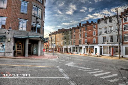 Market & Hanover street by Philip Case Cohen