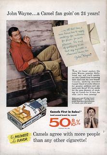 John Wayne Camel Ad | by SA_Steve