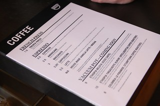 really awesome paper coffee menus. | by confusedbee
