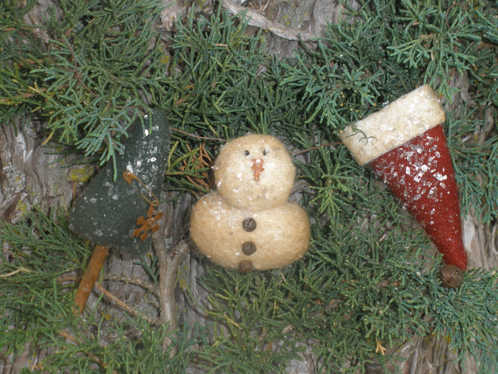 Primitive Snowman Garland Primitive Snowman Garland Patter
