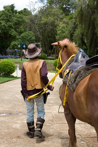 A Cowboy at the Dalat Flower Garden | by nerdcoregirl