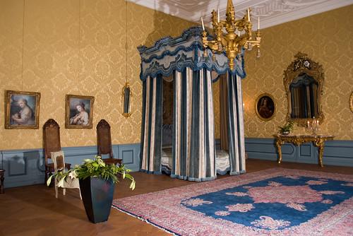 Hemelbed (Henriëttekamer Marie Henriëtte, Prinses de la Tour d' Auvergne (1708 1728) was de laatste markiezin van Bergen op Zoom uit het huis La Tour d Auvergne) | by mennofokke