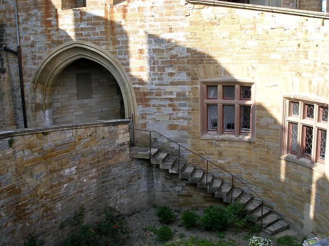 Burggarten von der Rückseite