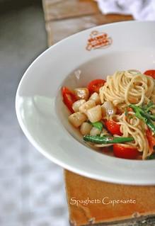 Spaghetti-Capesante