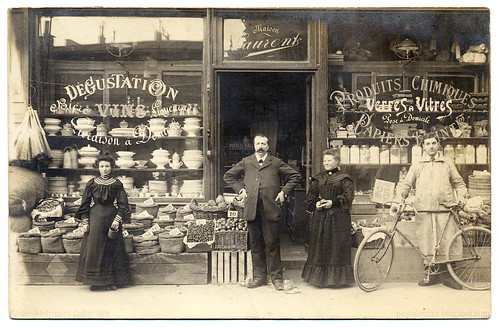 For All Your Grocery and Hardware Needs: Maison Laurent! (1905) | by postaletrice