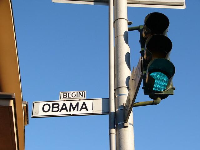 Begin Obama