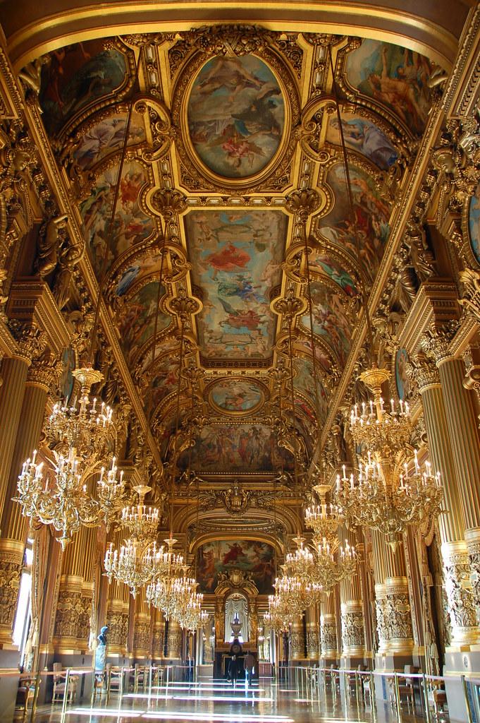 Ballroom L Opera De Paris Garnier Paris France Tim