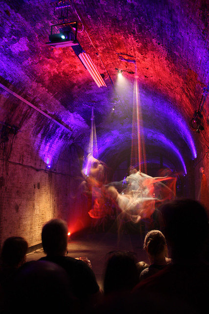 Performance at the Shunt Lounge