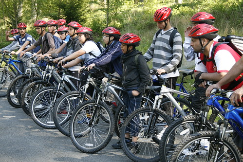24 - May - 2009 -- Bikes and helmets | by reway2007