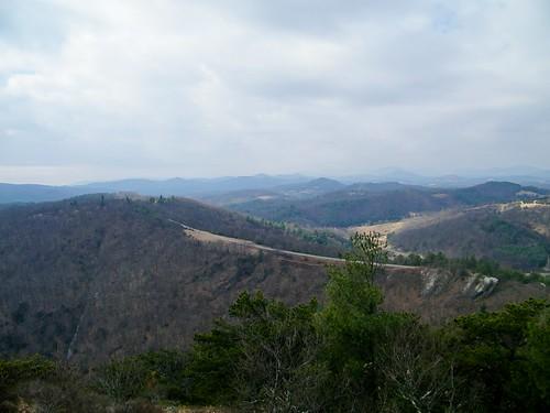 park blue sea mountain ridge parkway bluff doughton
