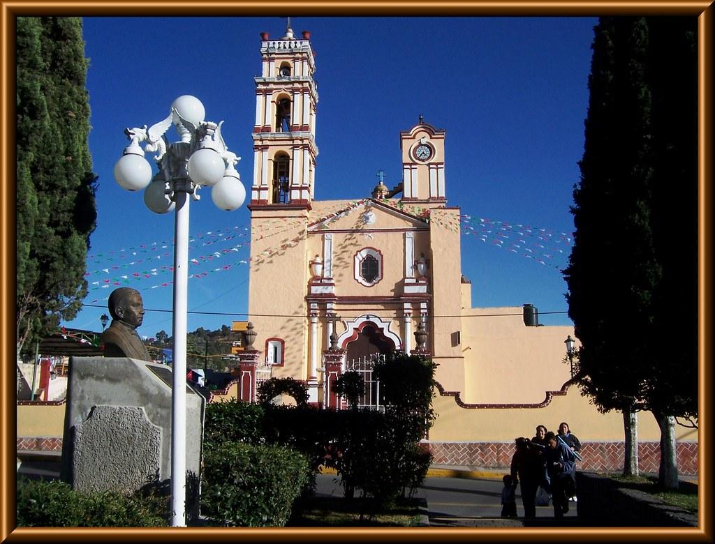 Parroquia De Los Santos Cosme Y Damian San Cosme Xalostoc Flickr