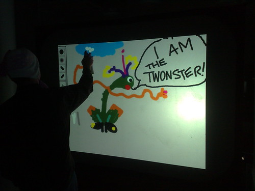 Leeds Twestival - I am the Twonster! | by FriiSpray