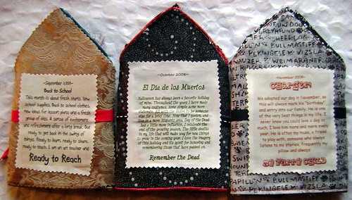Beaded Journal Project first 3 months ~backs~ | by Charger's and Frankie's Mommy