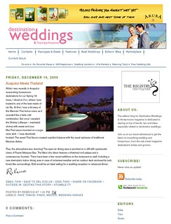 Destination Weddings and Honeymoons | by Glenda Suarez
