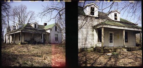 house abandoned 120 film analog farm kentucky diana louisville obannon