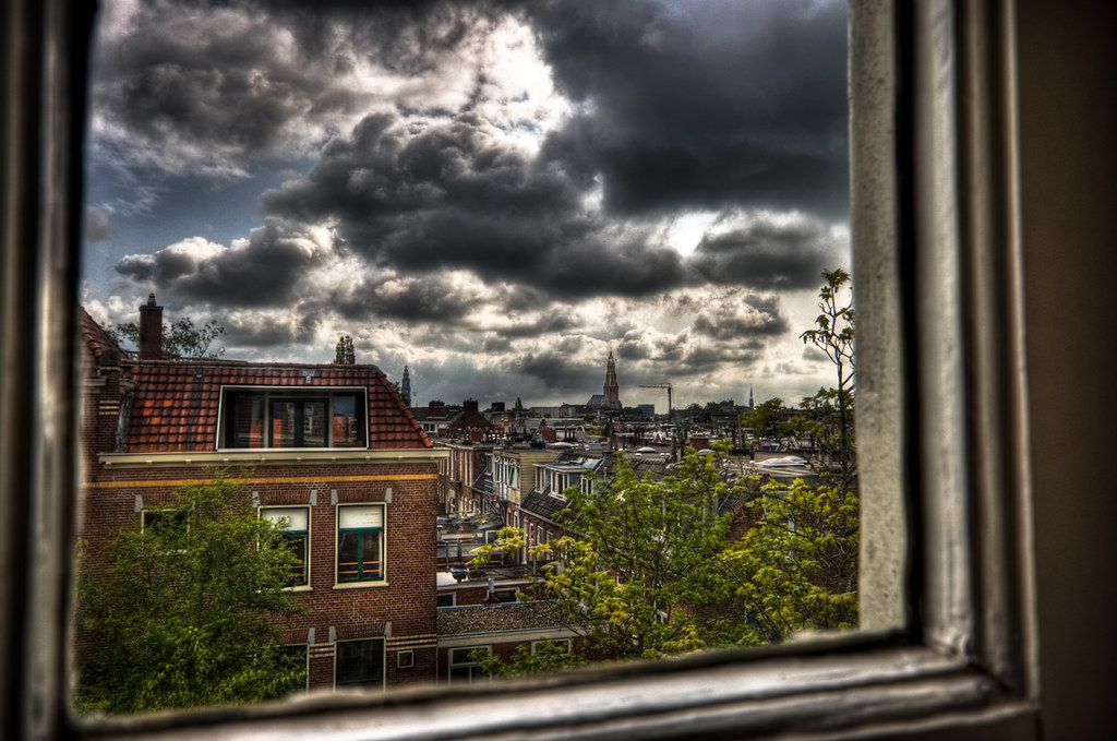 Through an Old Window by Frenklin