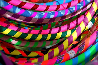 colorful hula hoops | by swelldesigner