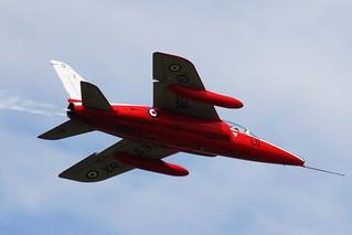 XR538 (G-RORI) Gnat T1 Heritage Aircraft Ltd