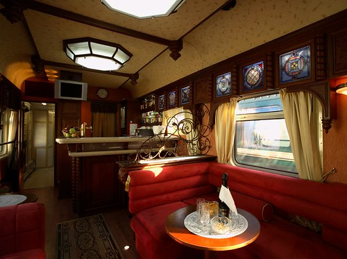 Train Chartering offers Golden Eagle for charter - Carriage bar car | by Train Chartering & Private Rail Cars