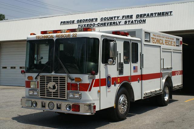 PGFD Technical Rescue 22