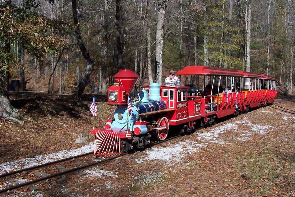 Miniature Railroad | Tannehill Historical State Park, Alabam