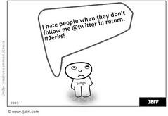 Jerks Don't follow back! | by sifarat