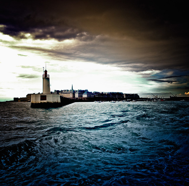 tempête sur St-Malo