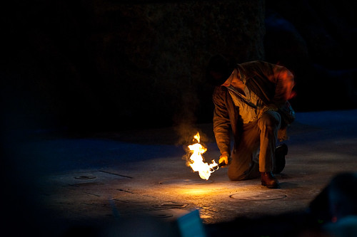 Indiana Jones Stunt Spectacular - Disney's Hollywood Studios - March 2009
