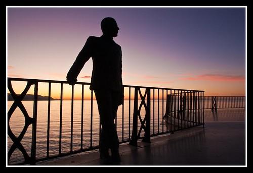 sea españa backlight sunrise contraluz mar spain andalucia amanecer malaga andres nerja axarquia balcondeeuropa canon450d breijo andresbreijo