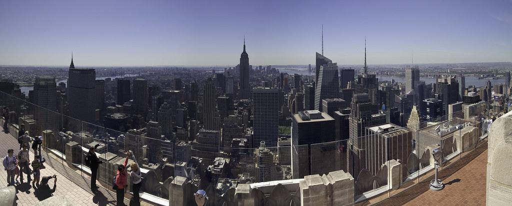 Veckans Bild 75 Panoramic View Of Downtown Manhattan From