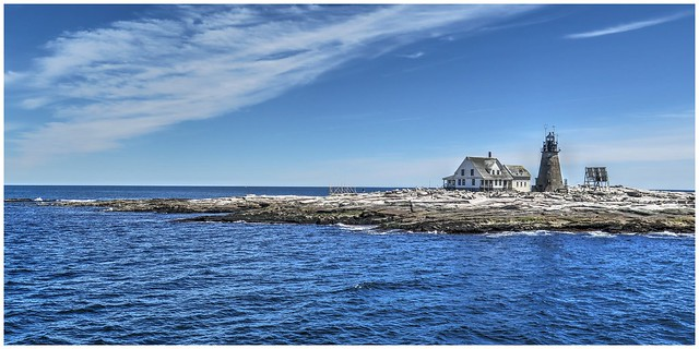 Lighthouse @ Mt Desert Rock, Maine