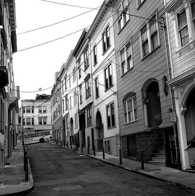 Russian Hill, San Francisco 1996