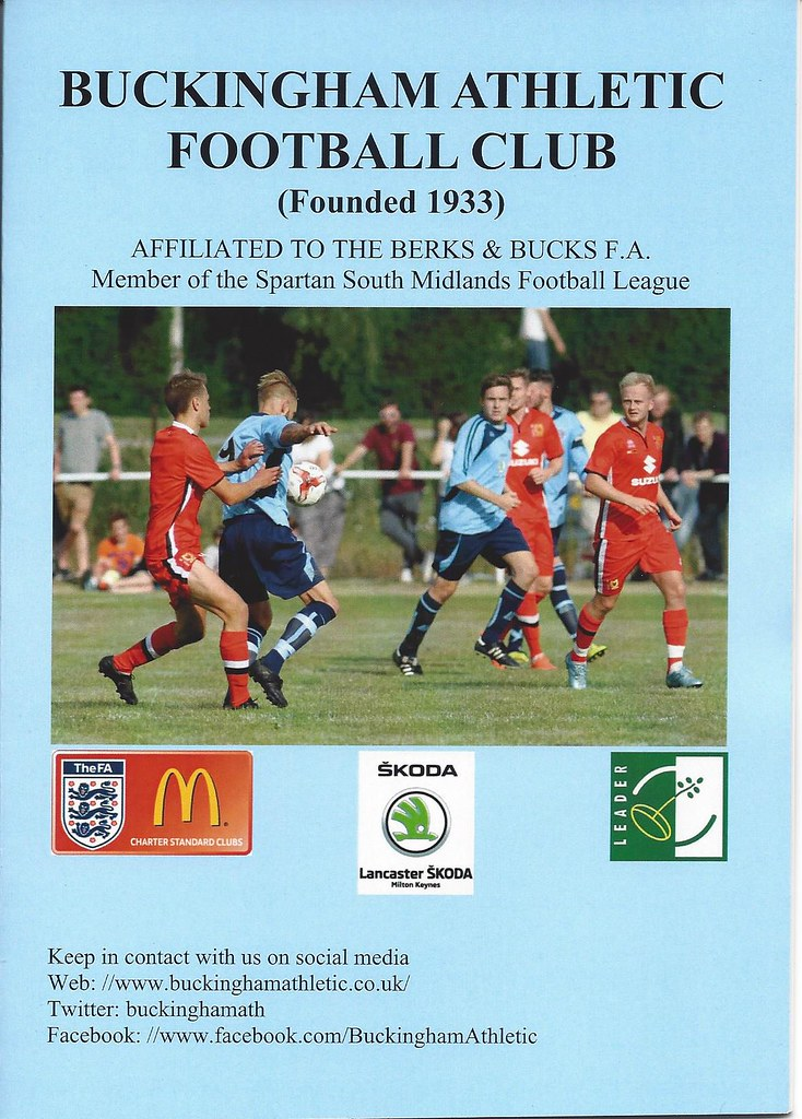 Buckingham Athletic v Risborough Rangers 02.01.2017