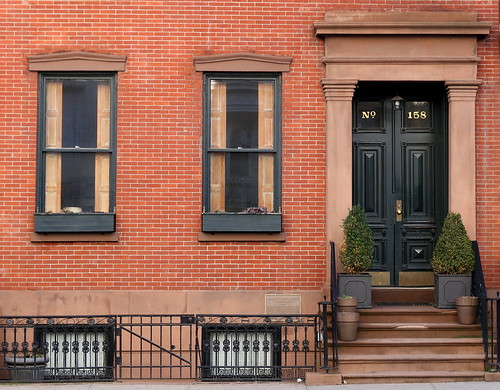 Lambert Suydam House (1839), 158 Waverly Place, Greenwich Village, New York   by Spencer Means