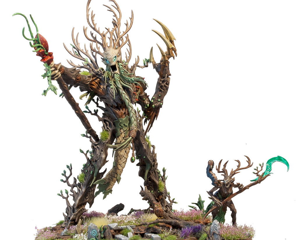 Ancient Treelord and Branchwych | My Sylvaneth Army | Tobias