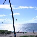 Kiteboarders on Maui