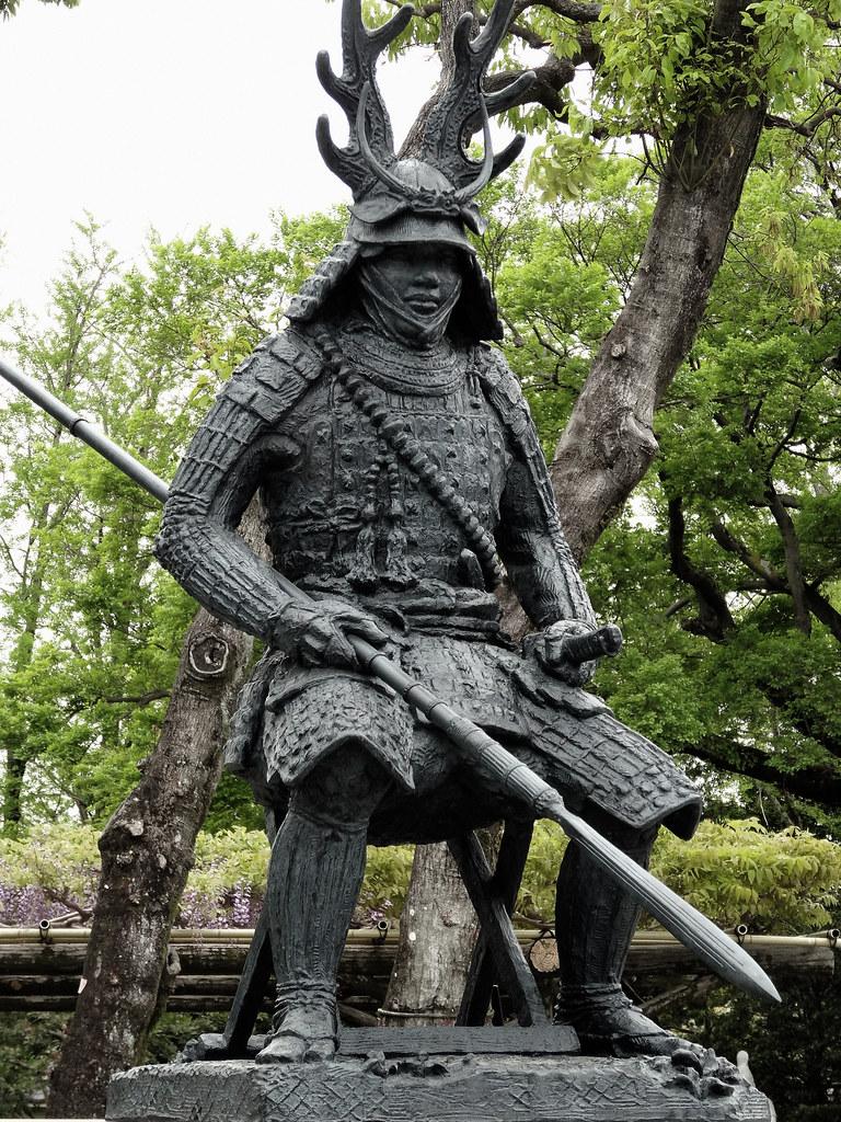 Honda Tadakatsu Statue Honda Tadakatsu Was Probably The