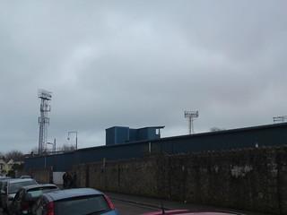 Plainmoor: TV Gantry above the Pop Side