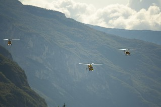 Elicotteri Trento 18 ottobre 2009