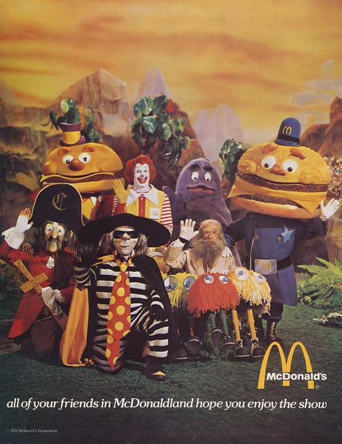 All Of Your Friends In McDonaldland Hope You Enjoy The Show