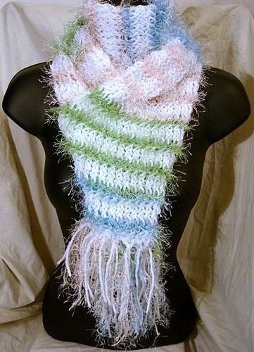 A White Cake With Colorful Sprinkles Soft Hand Knit Scarf … | Flickr