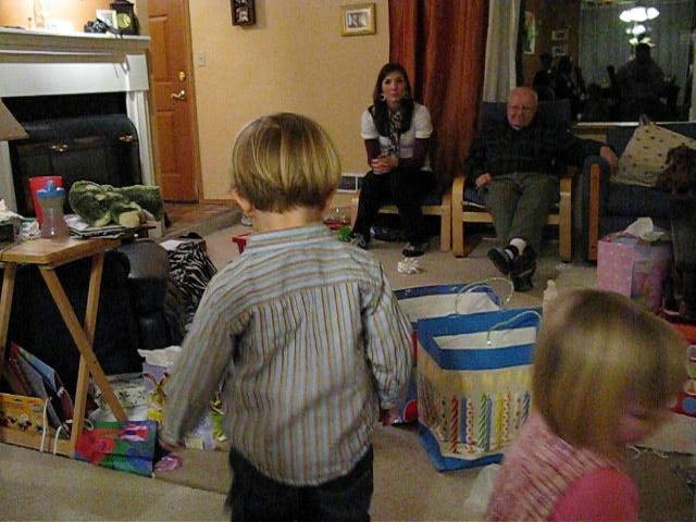 Milo's Second Birthday Party