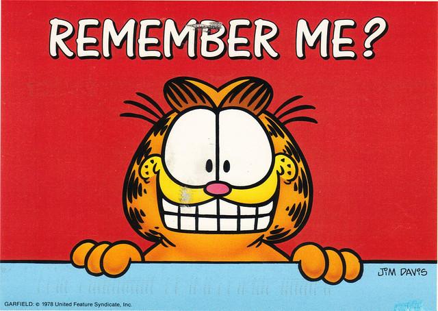 Garfield Postcard