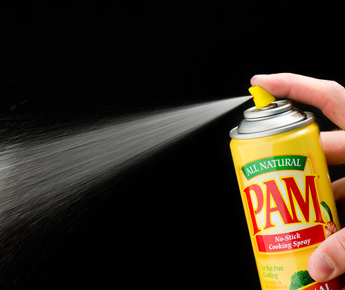 PAM Cooking Spray - Result