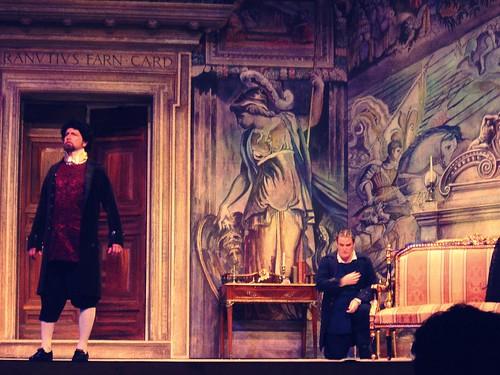Act II Scarpia and Spoletta