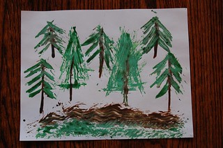AK's pine needle painting | by esagor