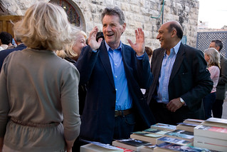 Michael Palin and Munzer Fahmy | by PalFest